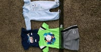 Baby boy clothes sizes nb to 12 months  Helper, 84526