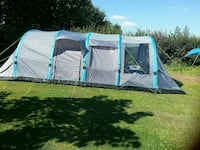 gray and blue tent Barnsley, S71 3DH