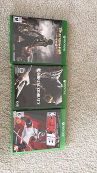 Xbox one games 20$ each  Chestermere, T1X 0B9