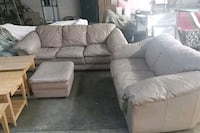 Leather Sofa and couch set Upper Marlboro, 20772