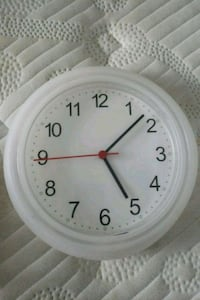 round white analog wall clock Adelphi, 20783