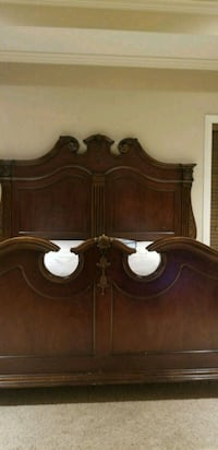 brown wooden headboard and footboard Madison, 39110