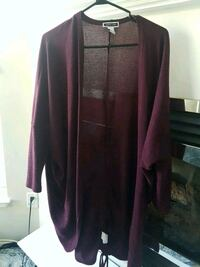 Size small purple long sweater  Coquitlam, V3B 8A6