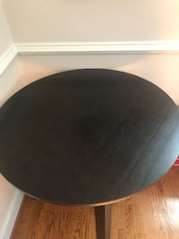 round black wooden table with chairs Great Falls, 22066