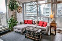 Grey interchangeable sectional couch Toronto, M6J 0B1