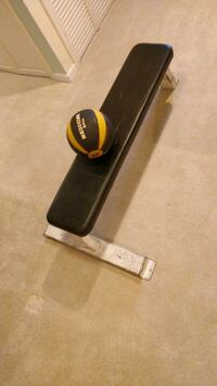 Exercise flat bench