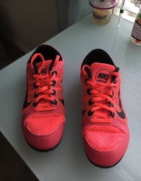 pair of red-and-black Adidas sneakers Katy, 77449