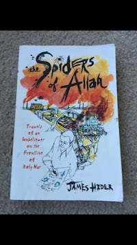the Spiders of Allah by James Hider Virginia Beach, 23454