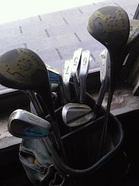 Antique Ben Hogan irons 4-9 with drivers Fairport, 14450