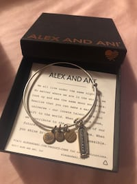 Alex and ani bracelet the Cham say strength