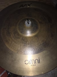 "Sabian AAX Omni Ride 22"" crash cymbal"