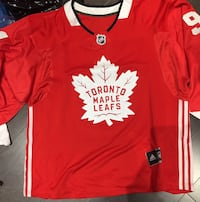 Tavares Red White Leafs Jersey