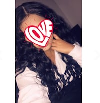 "30"" Black Curly Hair Des Moines, 50315"