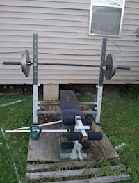 "Weight bench and weights ""300 or trade"""