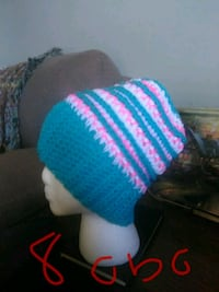 blue and pink knit cap Somerset, 42501