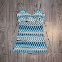 Women's Spaghetti Strap Tie Back Top, Size M Richmond Hill, L4C