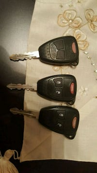 Dodge Jeep or Chrysler key remote