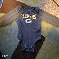 Green bay Packers baby onesie size 3-6 months Guelph, N1G 0E6