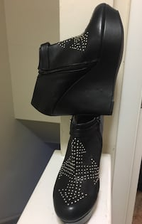 Black Booties with Silver Embellishment Henrico, 23075