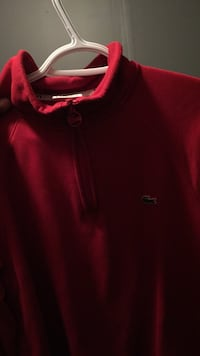 Red Lacoste pullover hoodie Burlington, L7M 2X9