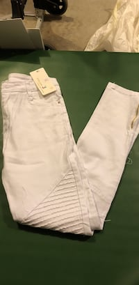 white and pink denim jeans Conway, 29527