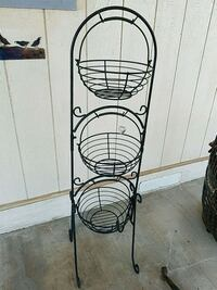 Wrought iron plant stand Mayer, 86333