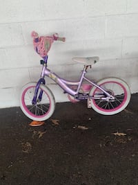 "Girls 16""bike"