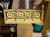 Coat and hat rack-brand new Manalapan, 07726