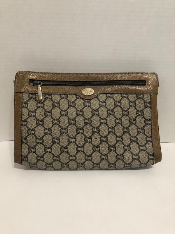 3ee39e0b4d54 Used brown and black Gucci monogram wallet for sale in Napa - letgo