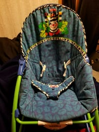 baby's blue and green bouncer Wisconsin Dells, 53965