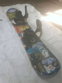 Snowboard with bindings 125.00 Edmonton, T5A 4Z4
