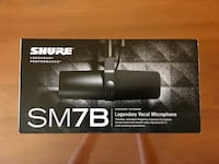 Shure SM7B dynamic microphone BOX ONLY Oakland, 94611