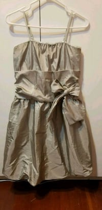 Champagne color dress, Size L, good condition Vancouver, V5R