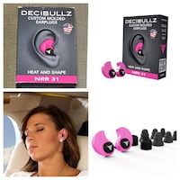Decibullz Custom Molded Earplugs - Pink