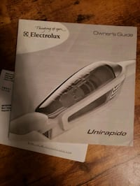 Electrolux cordless sweeper.