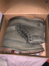 Size 11 Mens Olive Timberland