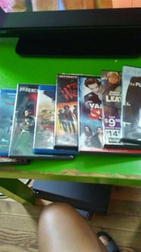 Movies blue ray and regular dvd all for 15.00 Long Beach