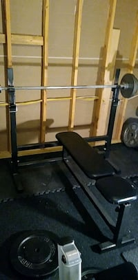 Flat Bench & Incline Bench and Behind the Neck Press.