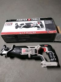 Porter Cable 20v reciprocating saw new but no battery or charger.
