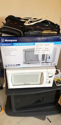 white and black microwave oven Martinsville, 08836