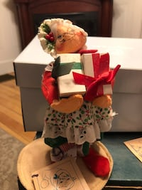 Annalee Mrs. Claus with gifts  Haverhill, 01830