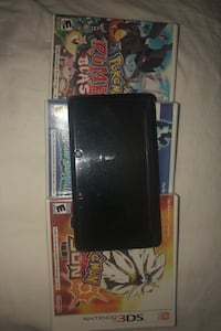 Black Nintendo 3DS. 4 Games Attleboro, 02703