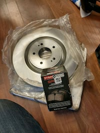 2014 Mitsubishi Evo front and rear discs rotors