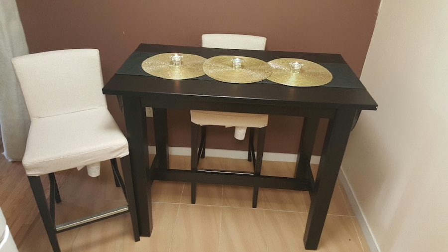 IKEA Stornas bar table with 2 Henriksdal chairs in North  : d65dc1e753ea938189b5c9e9fb5dc8a6 from us.letgo.com size 900 x 506 jpeg 66kB