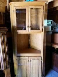 brown wooden cabinet with mirror Kansas City, 64113