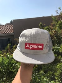 Supreme Raw Silk Camp Cap Los Angeles, 90057