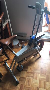 black and gray elliptical trainer Laval, H7P