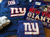 Ny Giants twin bedding throw and flag Coram, 11727