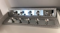 Mirrored/Crystal jewelry and accessory hanger Toronto, M6K 3K4