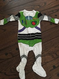 Disney Buzz Lightyear footed onesie - 3 months